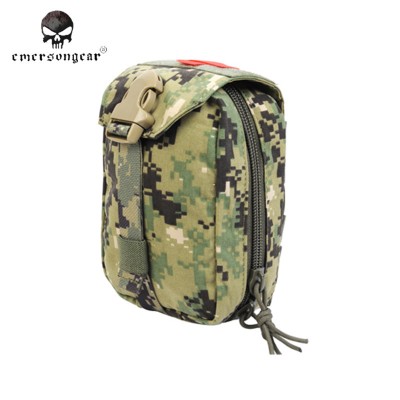 Survival Product Military First Aid Kit Emerson Medic Pouch Molle Airsoft Special Force Gear EM6368(China (Mainland))