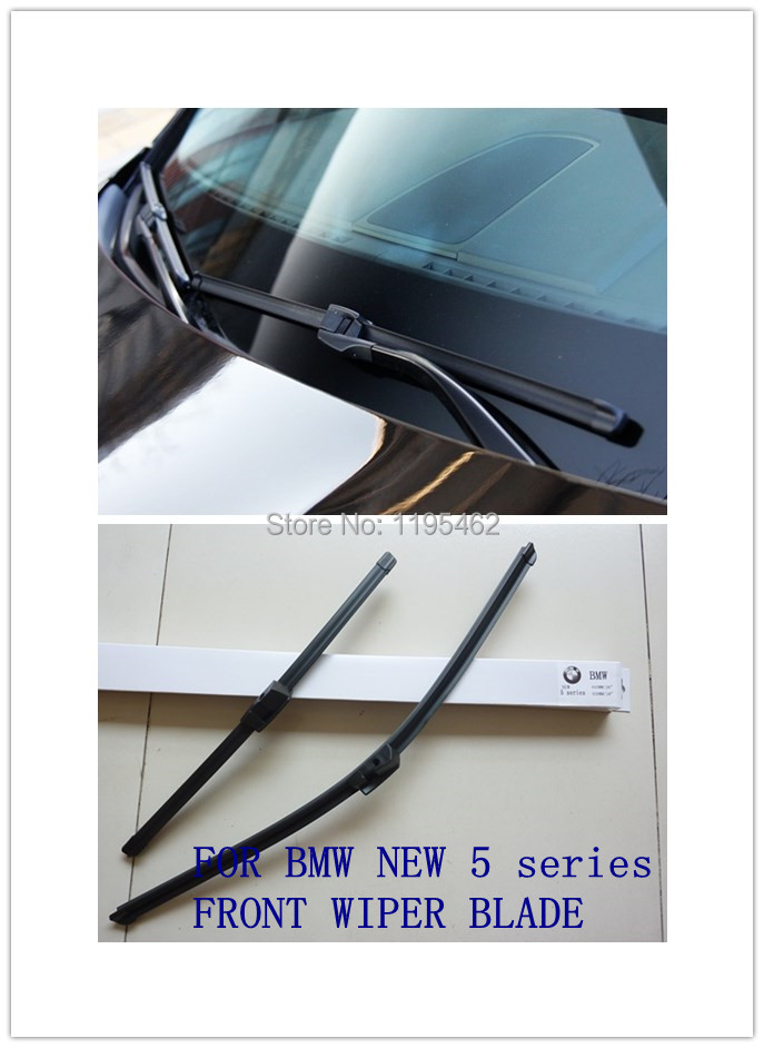 FOR BMW NEW 5 series specific front wiper blade ,auto windshield soft wiper,2 pcs/pair(China (Mainland))