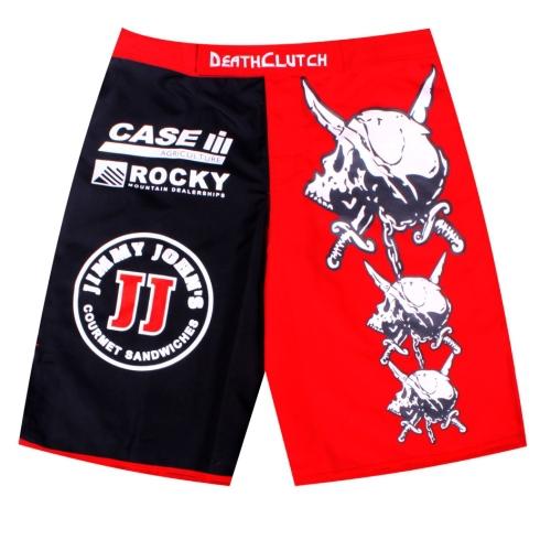 2015 New Listing Death Clutch Brock Lesnar MMA. Fitness Sanda fighting Muay Thai pants boxer shorts Size M-XXXL(China (Mainland))