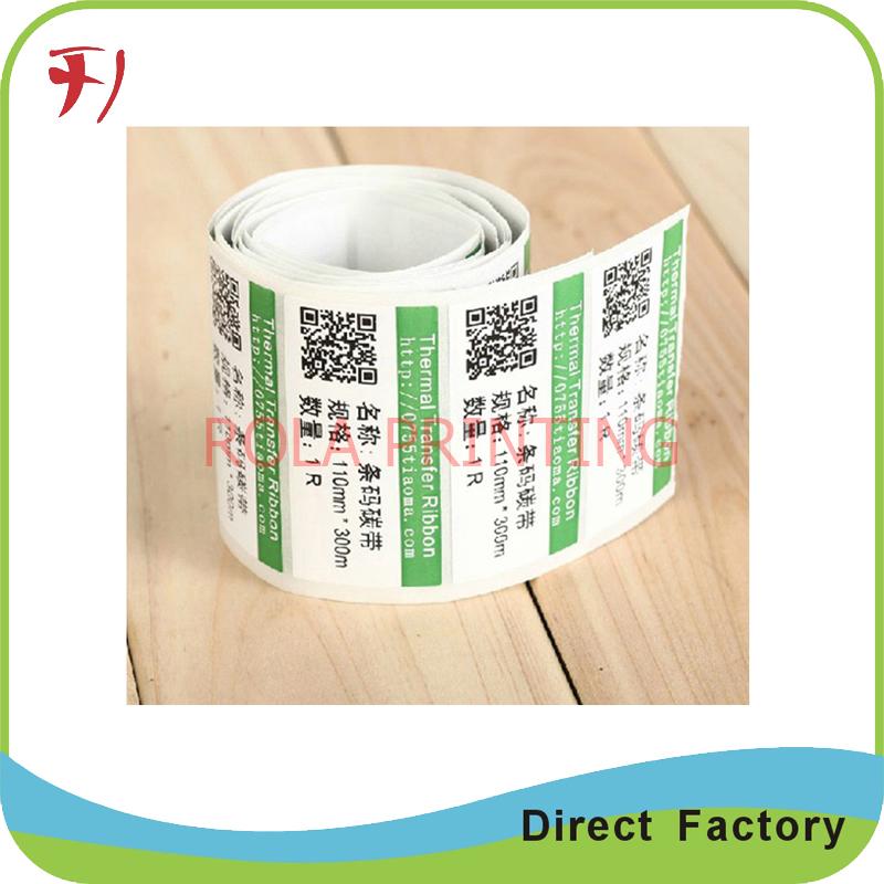 Customized High quality art paper barcode sticker(China (Mainland))