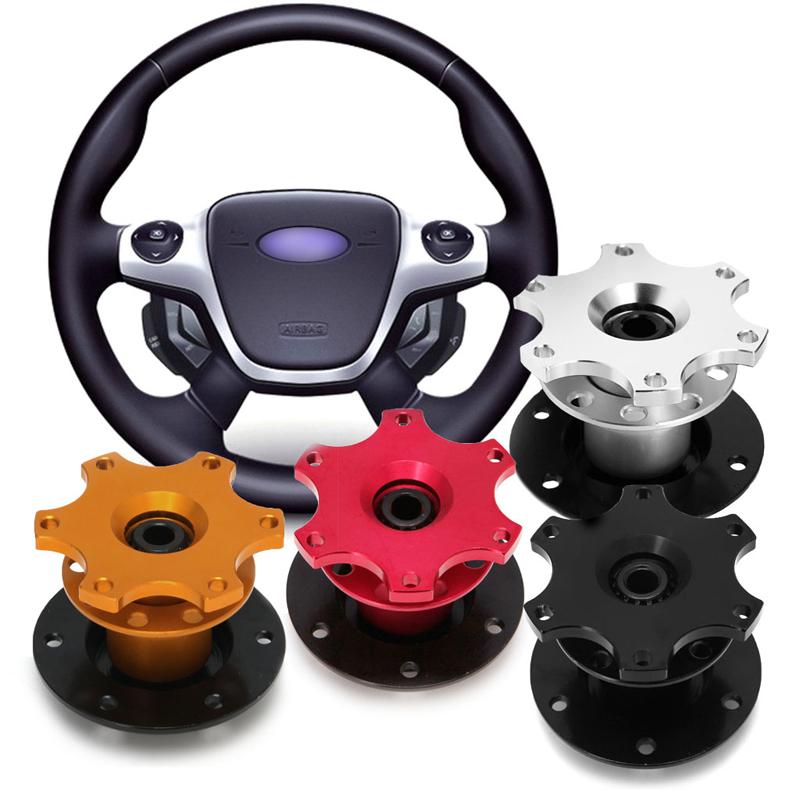 Universal Car Steering Wheel Quick Release Hub Racing Adapter Snap Off Boss Kit Steering Wheel Hubs 2017(China (Mainland))
