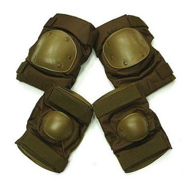 SWAT Special Force Airsoft Knee&Elbow Pads Coyote Brown