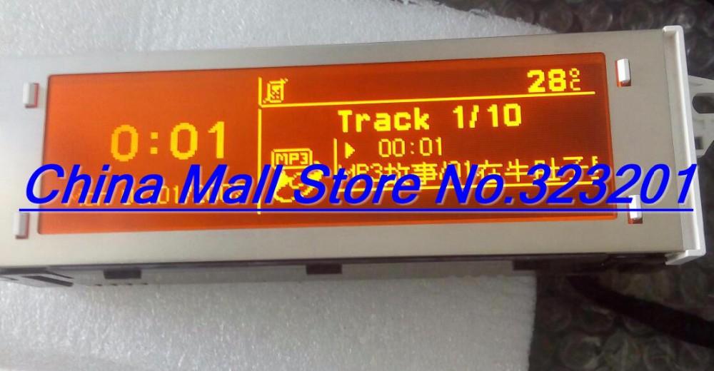 Купить CD экран ДЛЯ Citroen Sega триумф Красный экран rd43 rd45 Peugeot 307 308 408 поддержка На Английском и Французском 12 pin интерфейс