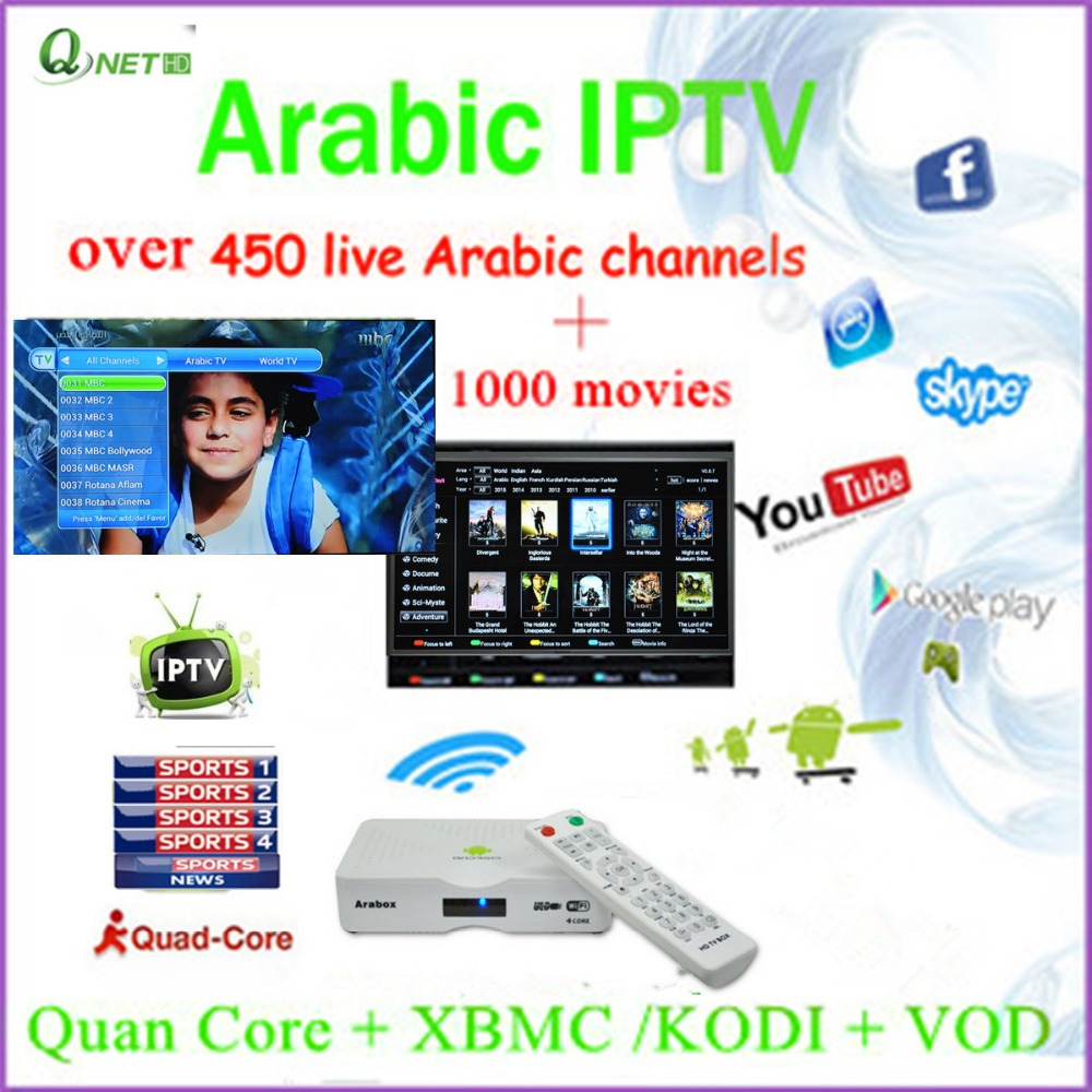Arabic IPTV Arabox Preinstall The Arabic IPTV APK and Drama APK with 1000 Movies is Added in VOD(China (Mainland))