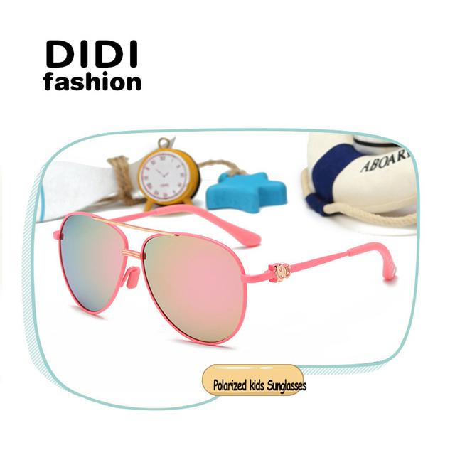 ДИДИ Горячие Детские Солнцезащитные очки Девушки Парни Моды Личности Рамка Дизайн Дети Детские Очки Óculos De Sol женщина для C540