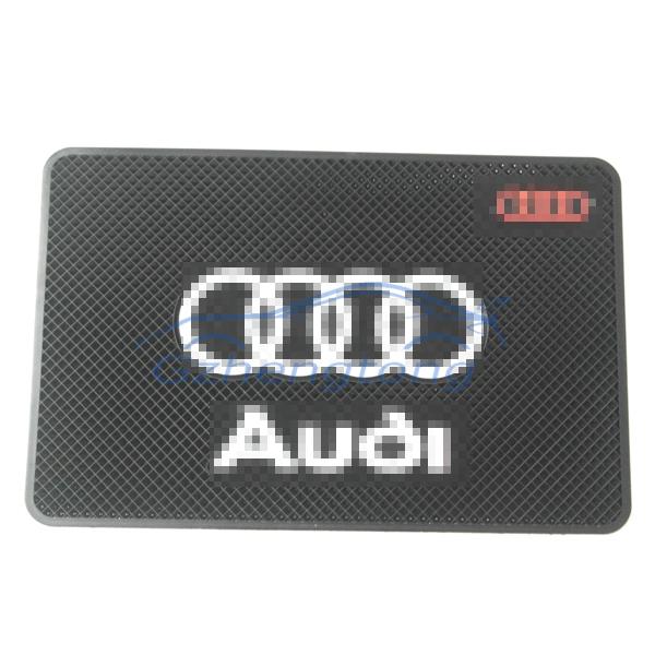 Free Shipping Car Slip Resistant Pad Emblem for AD(China (Mainland))