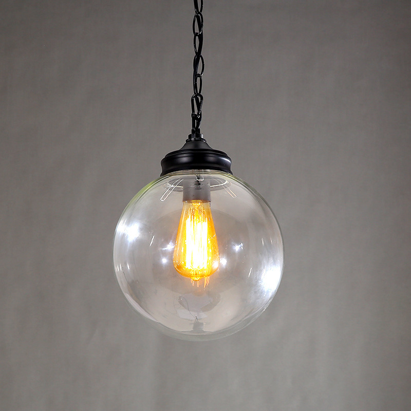 Industrial Style E27 220v Edison Bulb Round 20cm 25cm Big