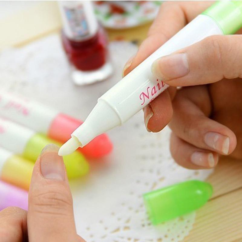 Nail Art Polish Corrector Pen Remover Cleaner Mistakes Varnish Nail Polish Removal Pen M01896(China (Mainland))