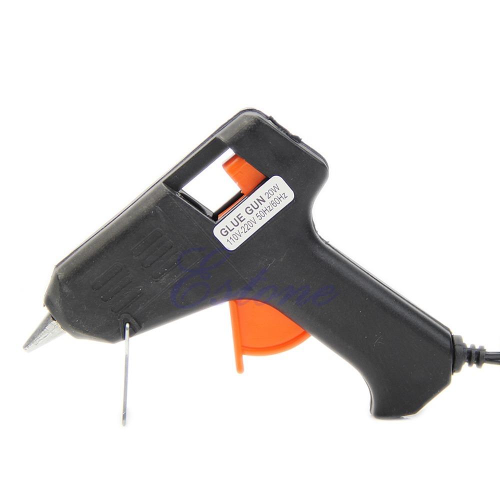 Art Craft Repair Tool 20W Electric Heating Hot Melt Glue Gun Sticks Trigger-PY(China (Mainland))