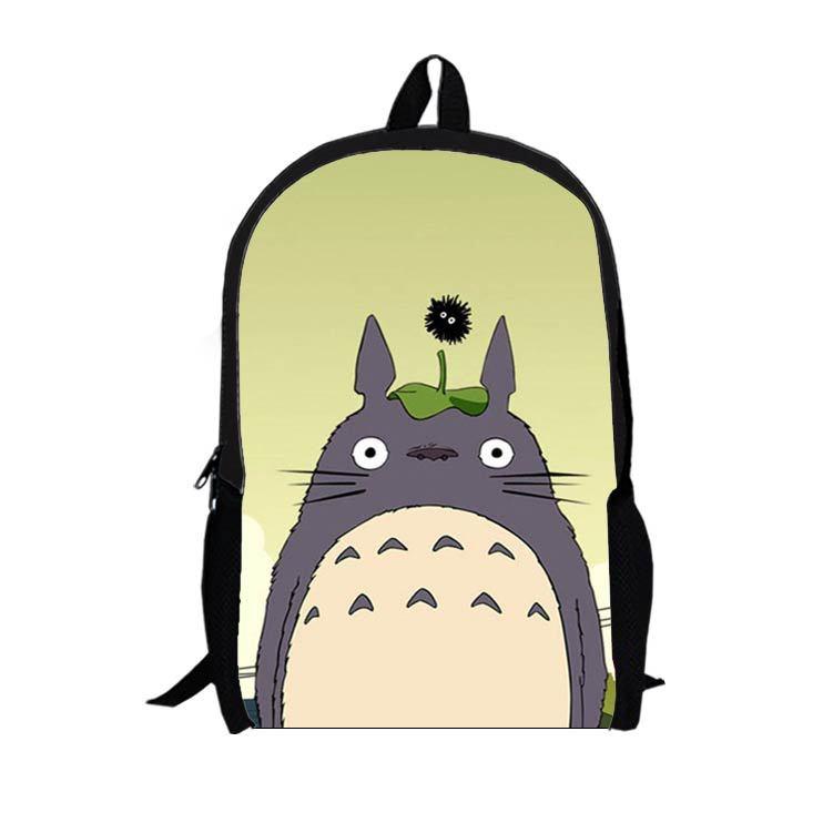 2015 Japan My Neighbor Totoro manga cartoon Nylon backpack School Bags For Teenagers Printing Backpack Unisex Free shipping(China (Mainland))