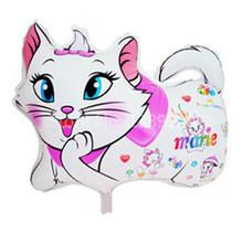 10pcs/lot Marie Cat Foil Balloons kitty Helium Balloon Birthday Party Wedding Decoration balao Baby Toy mary animal cat Globos(China (Mainland))