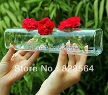 wedding decoration Gigi gift hydroponic glass vase flower arranging device home decoration Floral  Table Decorations(China (Mainland))