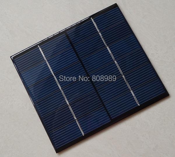 HOT 2W 12V Mini Solar Cell Polycrystalline Solar Panel DIY Panel Solar Power Battery Charger 115*130*3MM 10pcs/lot Free Shipping<br><br>Aliexpress