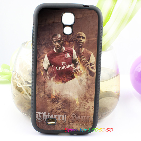 Arsenal Henry of Premier League football fashion cover case for samsung galaxy S3 S4 S5 S6 S7 NOTE 2 / 3 / 4 #A6842(China (Mainland))