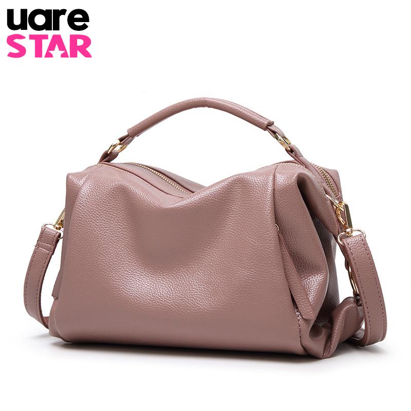 Soft Pu Leather Handbags Women Bag Zipper Ladies Shoulder Bag Girl Hobos Bags Brand Design Tote Female Messenger Bag(China (Mainland))