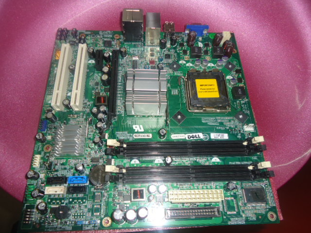 For DELL Inspiron 530 530S Vostro 200 G33M02 G33 Desktop Motherboard CU409 RY007 RK936(China (Mainland))