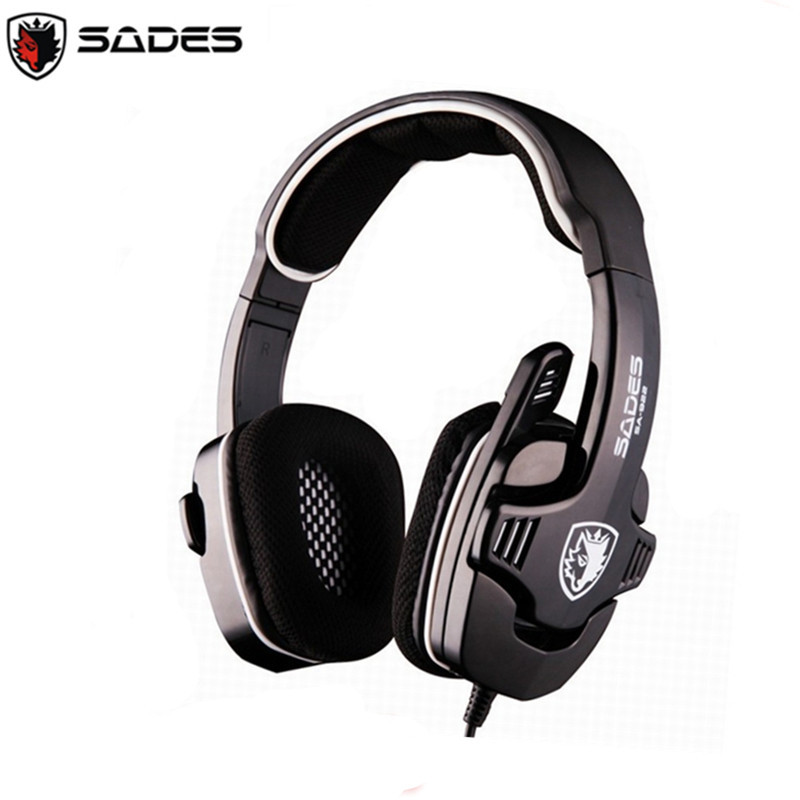 High quality SADES SA-922 3 in 1 Gaming Headset 7.1 Surround Sound Effect USB Game Headphones with Mic for PC PS3 XBOX(China (Mainland))