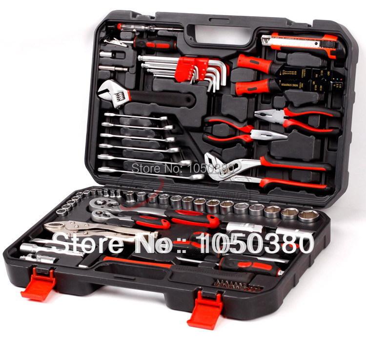 84-in-1 TUV GS Auto Repairing Kit, Auto Repair Combination,Bicycle Repairing Kit,Portable Repair Kit(China (Mainland))