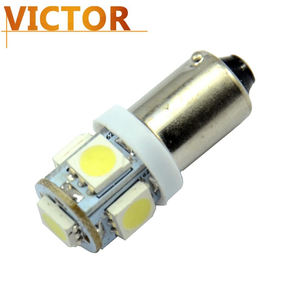 Из светодиодов ba9s 12 В автомобиля в автомобиль источник света 5050 5smd клин автомобилей индикатор прибора боковой из светодиодов лампы бесплатная доставка # VG02-1