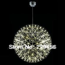 Stainless Steel Pendant Light Dimmable LED Firework Lamp Ball Moooi Raimond Restaurant Lamparas Lustre 110-240V(China (Mainland))