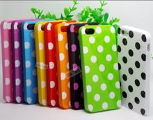 Чехол силиконовый, ujs77 : узор в горошек мягкий тпу чехол для Apple iPhone5 iPhone5S чехол для iPhone 5 iPhone 5S 5 G раковина J96 CUU пак CZZ PSS
