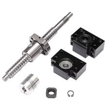 Price Antibacklash BallScrew SFU1605 L200mm + BK/BF12 Support 2 Couplers Locknuts Newest - Home Improvement Mall store