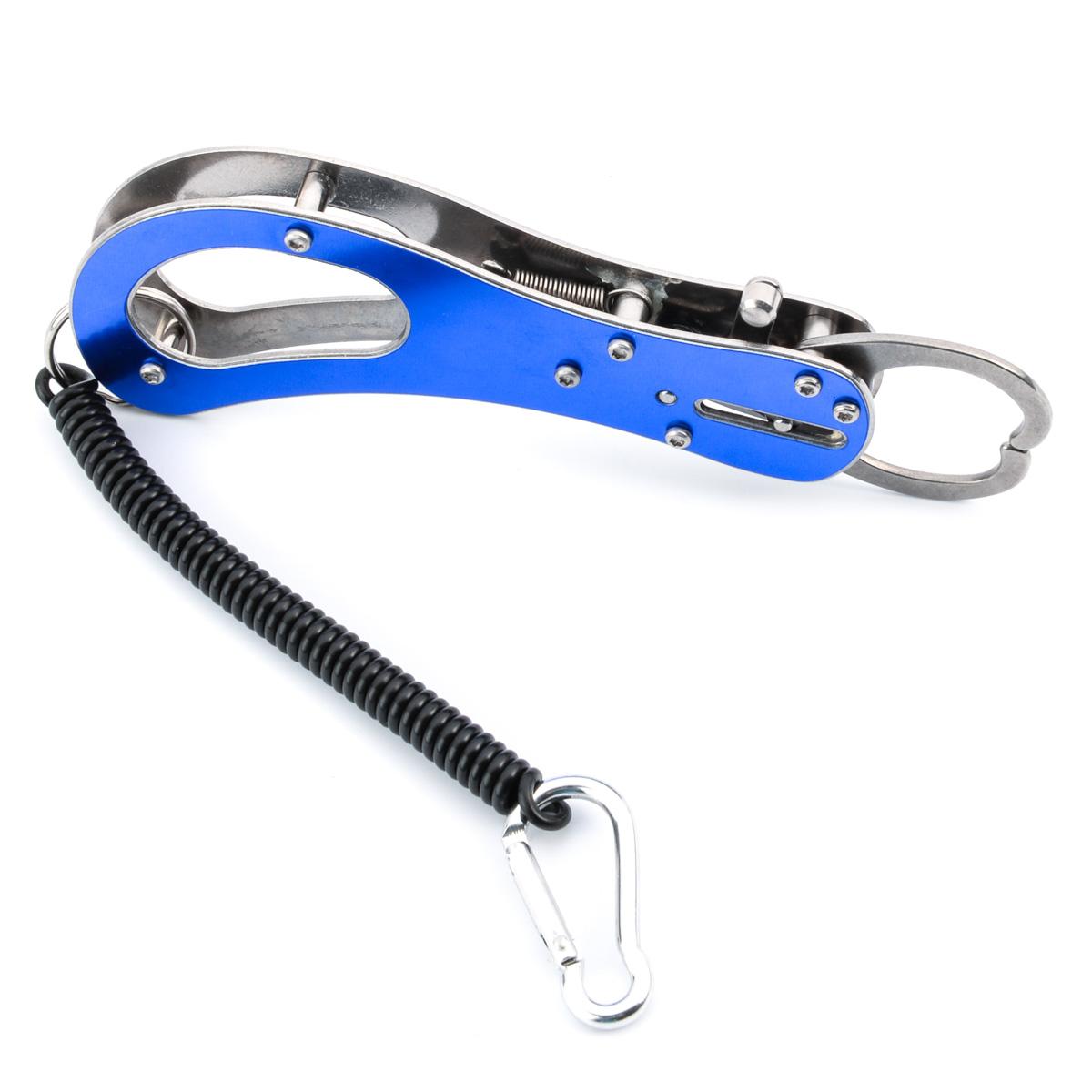 Stylish Steel Portable Fish Lip Grabber Catch Fishing Gripper Grip Tool Fishing accessories YC143-SZ