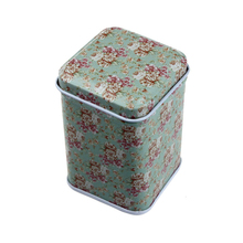 Happy home Household Box Home Storage Organization Metal Candy Trinket Tin Jewelry Iron Tea Coin Storage Square Box Case