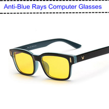 2016 Anti Blue Rays Computer Goggles Reading Glasses 100% UV400 Radiation-resistant Glasses Computer Gaming Glasses(China (Mainland))