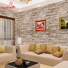 Buy 5M Self Adhesive Wall Paper Roll Wall Rustic Kitchen Living Room TV Background Stone Wallpaper Brick Wall Sticker Home Decor for $13.97 in AliExpress store