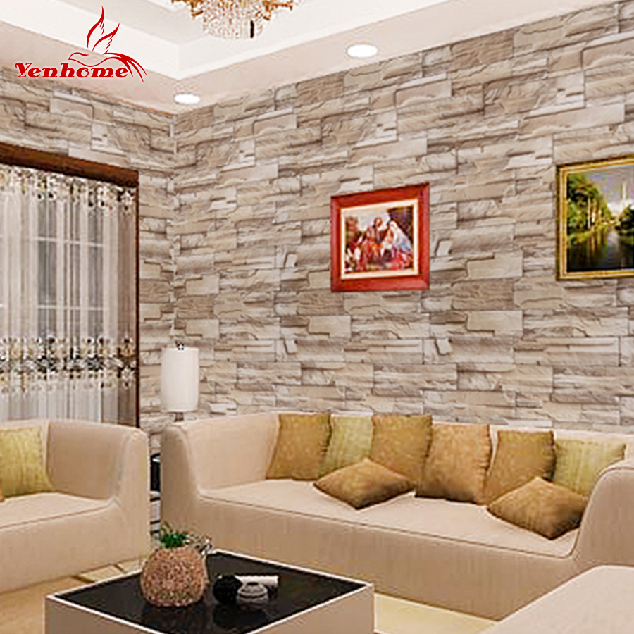 Art mural living room poster bedroom bathroom home decor mural china - Stone Wall Tiles Living Room Reviews Online Shopping
