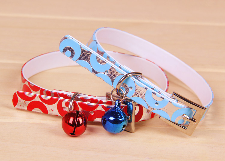 Excellent! The Small Dog Cat Pet Collar pet Necklace With A Special Bell Dog Collar Pet Accessories(China (Mainland))