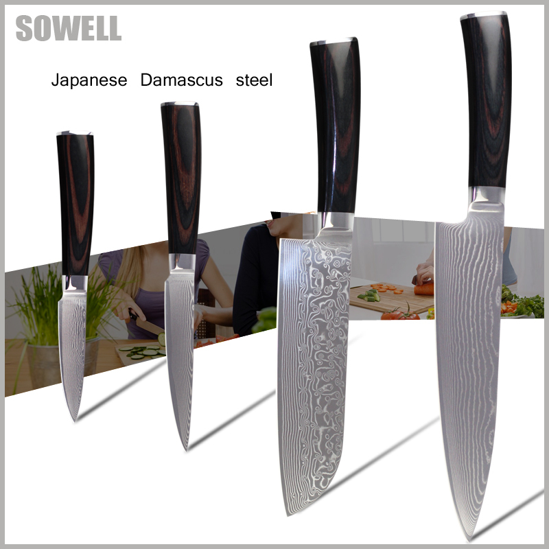 Кухонный нож SOWELL 8/7 santoku 4.5 3.5 aus/10 83