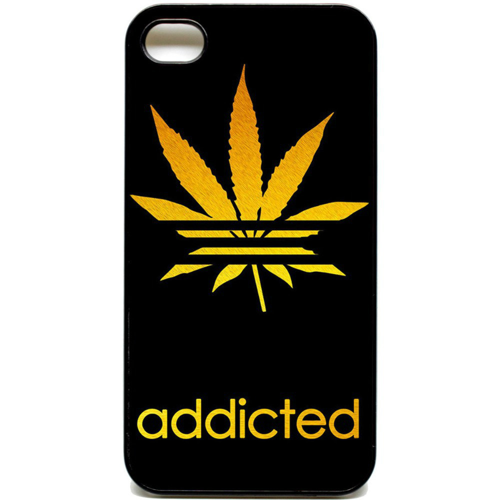 Addicted leaf weed dope adi logo Cover Case for Huawei Honor 3C 4C 4X Honor 6 7 Ascend P6 P7 P8 Lite Mate 7 8 S(China (Mainland))