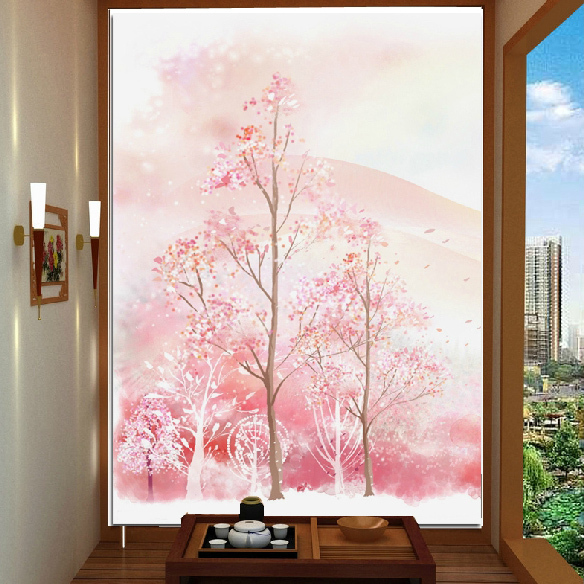 Popular cherry tree mural buy cheap cherry tree mural lots for Cherry tree mural