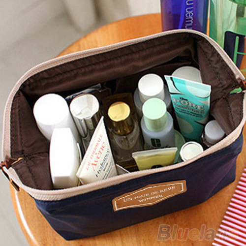 Portable Cute Multifunction Beauty Travel Cosmetic Bag Makeup Case Pouch Toiletry 2KOC(China (Mainland))