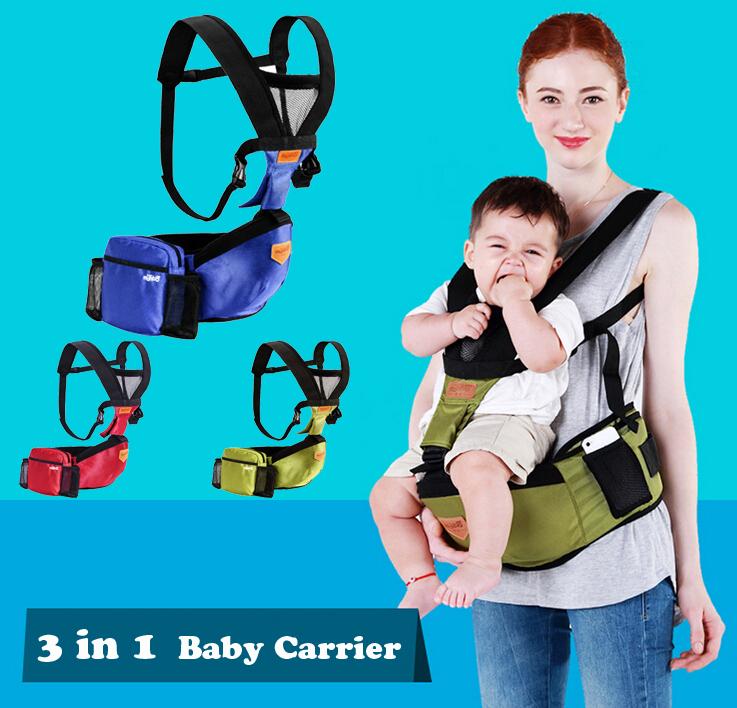 Comfortable!!High Grade 2015 New Design Multifunctional Baby Carrier/Scientifically Baby Sling/canguru Baby Kangaroo <br><br>Aliexpress