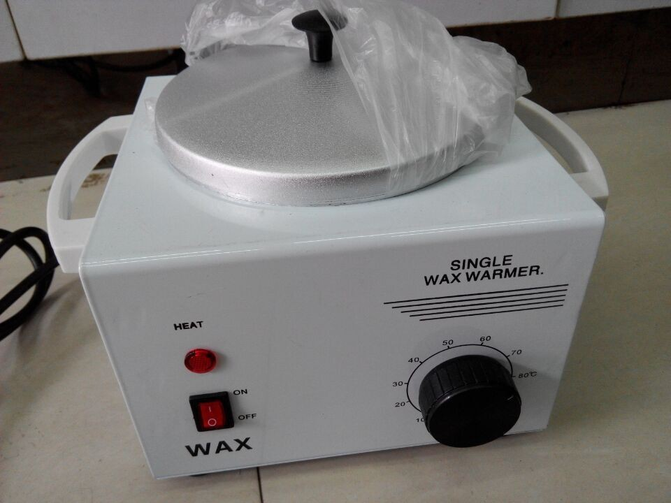 Super buy Single Pot Hair Removal Wax Heater Machine 110V & 220V 50W Power Depilatory Salon Hot Paraffin epilator Wax Warmer(China (Mainland))