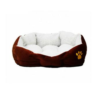 New cat dog kennel pet house warm sponge bed cushion basket #D002