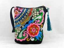 Chinese Ethnic embroidery bag phone women messegner bags embroidered cloth female Children unsual bags mobile phone(China (Mainland))