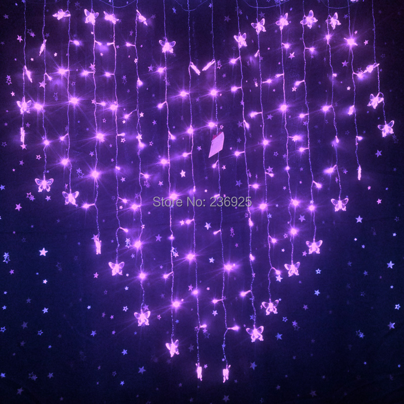 Romantic Decorations string lights outdoor picture - more detailed picture about heart
