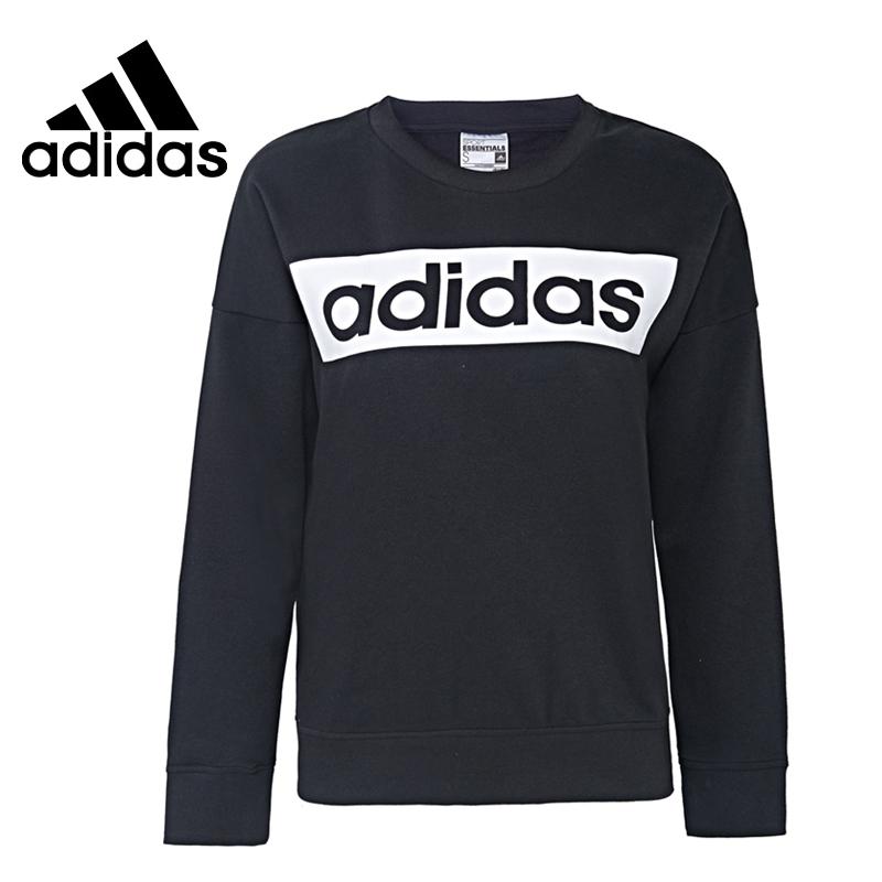 Original New Arrival 2016 Adidas ESS LINEARSWEAT Women's Pullover Jerseys Sportswear free shipping