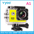 Hot Sale Action Camera 2 0 LCD 1080P HD Waterproof Camera 140 Wide Angle Action Cam