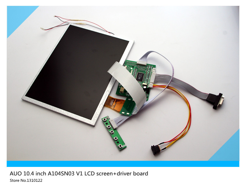 AUO 10.4 inch TFT A104SN03 V1 LCD screen+driver board