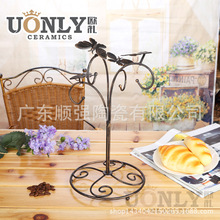 Direct new European style ceramic coffee cup beautiful and elegant and luxurious styling with a butterfly