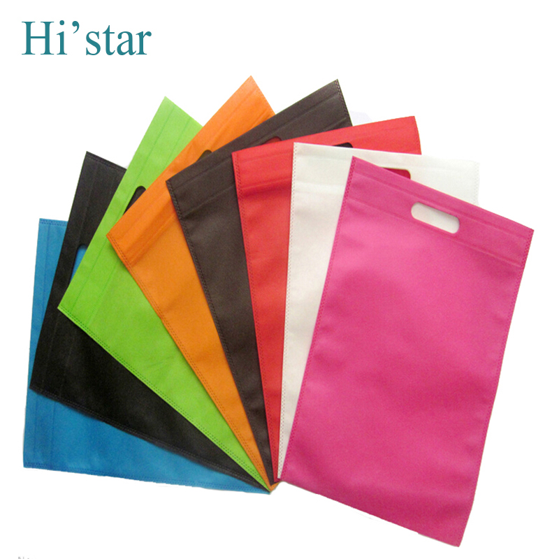 25*30cm 20 pieces/lot non woven bag,non woven shopping bag recycle hand bag,customized logo available(China (Mainland))