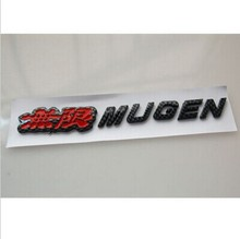 Buy Carbon fiber MUGEN S2000 CR-V Rear Decal Emblem Badge Sticker Car Styling Auto Accessories Car Stickers Covers for $5.69 in AliExpress store