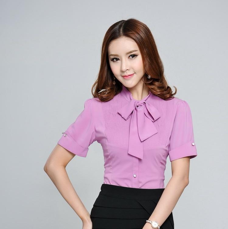 Work Uniform Blouses 26