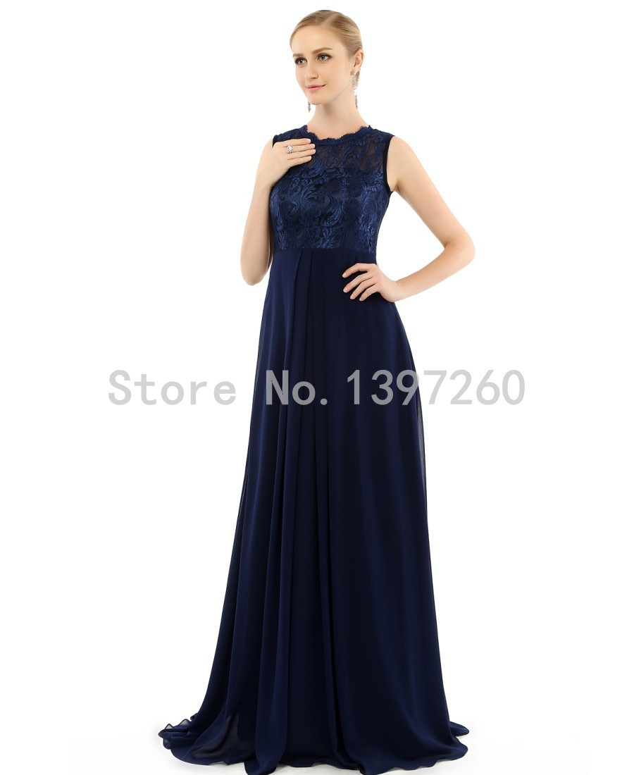 Buy 2016 cheap navy blue bridesmaid for Maid of honor wedding dresses