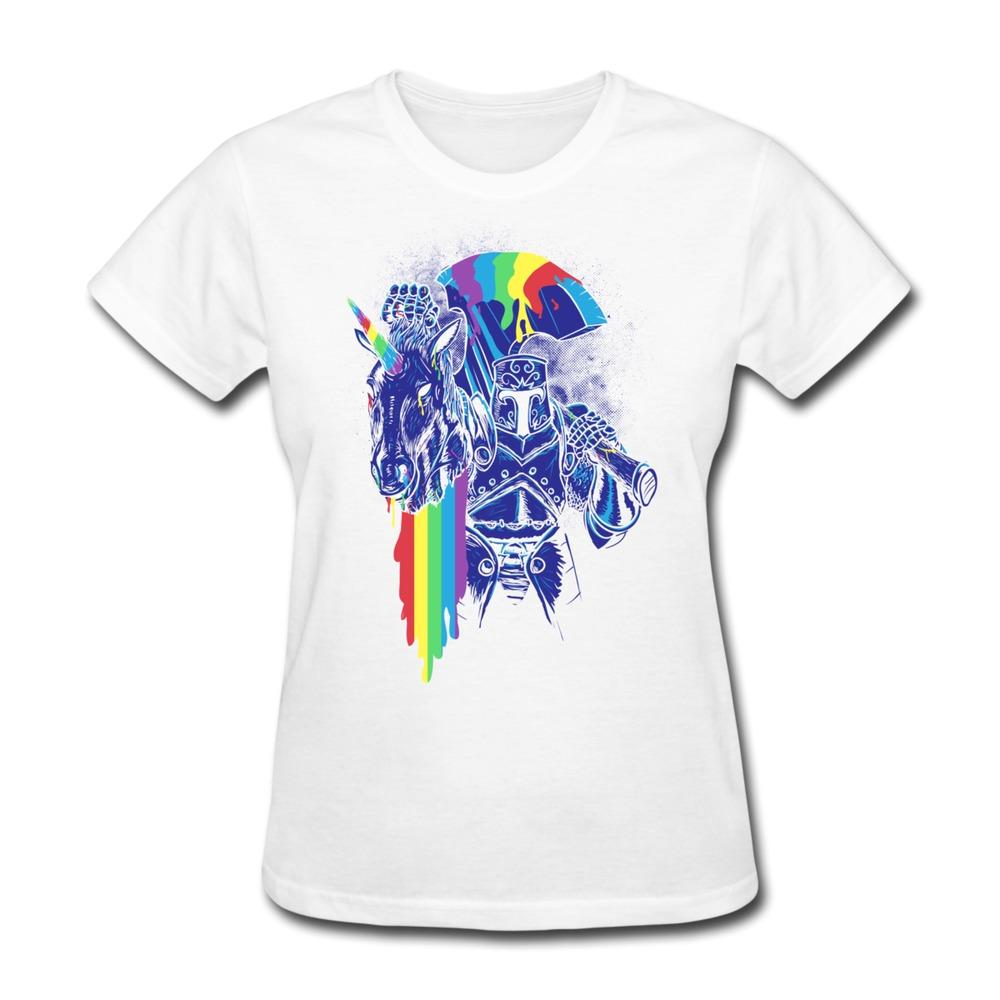No minimums gildan t shirt women rainbow maker customize for Cheap custom t shirts no minimum order